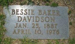 Bessie <i>Baker</i> Davidson