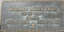 Willard Arlen Frye