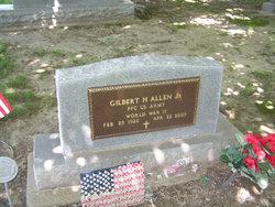 PFC Gilbert H Allen, Jr