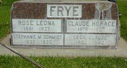 Cecil Claude Frye