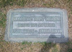 Lillie Elizabeth Elizabeth <i>Shipp</i> Cushing
