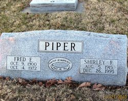 Shirley Rosetta <i>Hinchman</i> Piper
