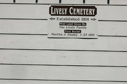 Lively Cemetery