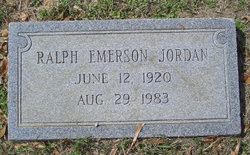 Ralph Emerson Jordan