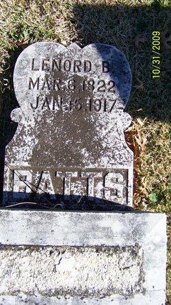 Leonard Buford Batts