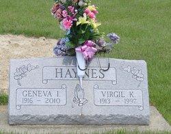 Virgil K Haynes