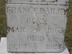 France Bailey