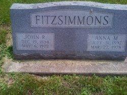Anna Mary <i>Ahrens</i> Fitzsimmons