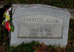 Nanette <i>Allums</i> Breland