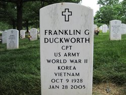Franklin G Duckworth