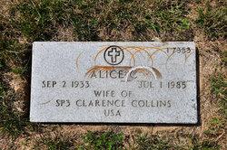 Alice C Collins