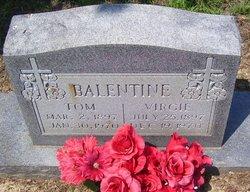Virginia Lee Virgie <i>Ingram</i> Balentine