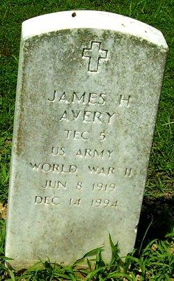 James H Avery