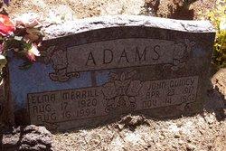 Elma <i>Merrill</i> Adams
