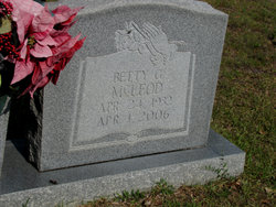 Betty Jean <i>Breland</i> McLeod