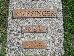 Merle William Crissinger