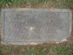 John Minnis Thornburgh