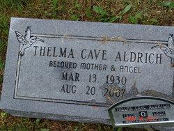 Thelma <i>Cave</i> Aldrich