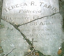 Faustina Teresa <i>Rodriguez</i> Tarin