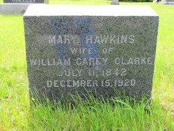 Mary <i>Hawkins</i> Clarke