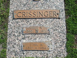 Ethel Marie <i>Myers</i> Crissinger