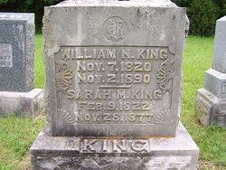 Sarah Melissa Sally <i>McConnell</i> King