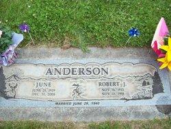 Willie Edna June <i>Harris</i> Anderson