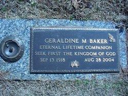Geraldine M Baker