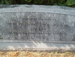 Mary Frances <i>Stevens</i> Carmine