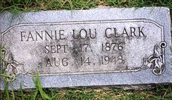 Fannie Lou <i>Chiles</i> Clark
