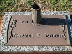 Rosemarie E. Baeuerle