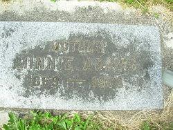 Minnie <i>Owens</i> Adams