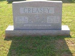 Mary Ann <i>Jefferson</i> Creasey