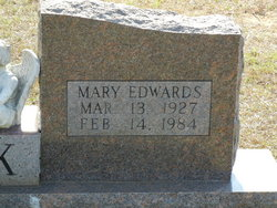 Mary <i>Edwards</i> Cook