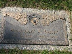 Margaret A Bailey