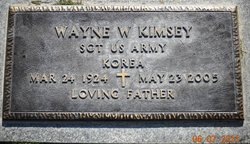 Sgt Wayne W Kimsey