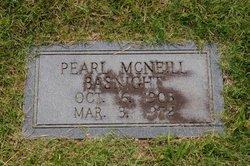 Pearl <i>McNeill</i> Basnight