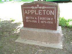 Metta A <i>Fouts</i> Appleton
