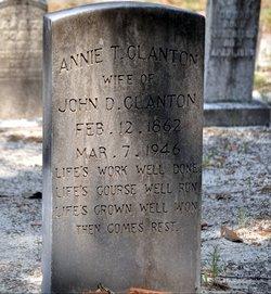 Annie Terrisa <i>Downes</i> Clanton