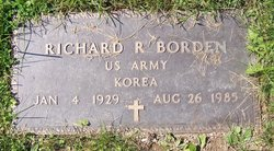 Richard R Borden