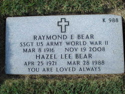 Raymond Edward Bear