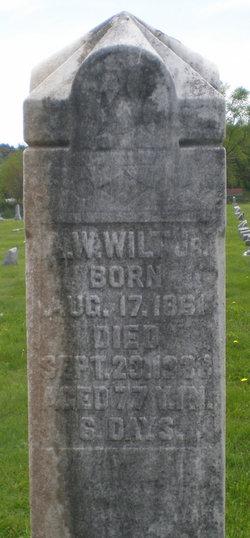 Alexander Washington A W Wilt, Jr