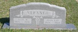 Allie M <i>Daniel</i> Strange