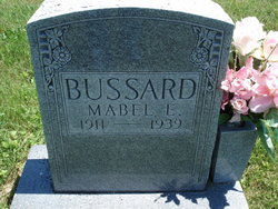 Mabel Etalia <i>Grubaugh</i> Bussard