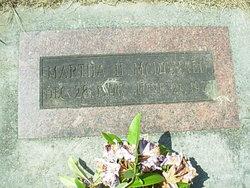 Martha H McDonald