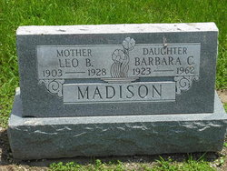 Mrs Leo B. Madison