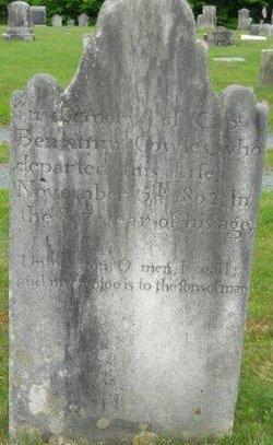 Capt Benjamin Cowles