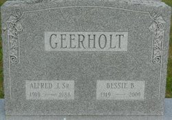 Alfred J Geerholt, Sr