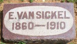 Elizabeth Lizzie <i>Low</i> Van Sickel