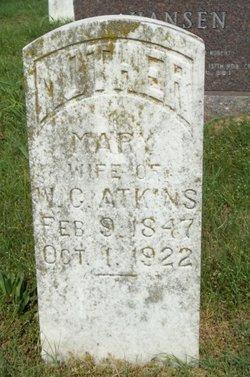 Mary <i>Sherer</i> Atkins